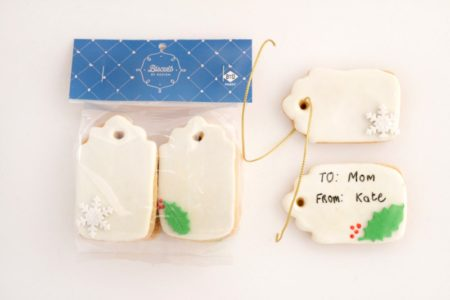 Christmas Tag Biscuits